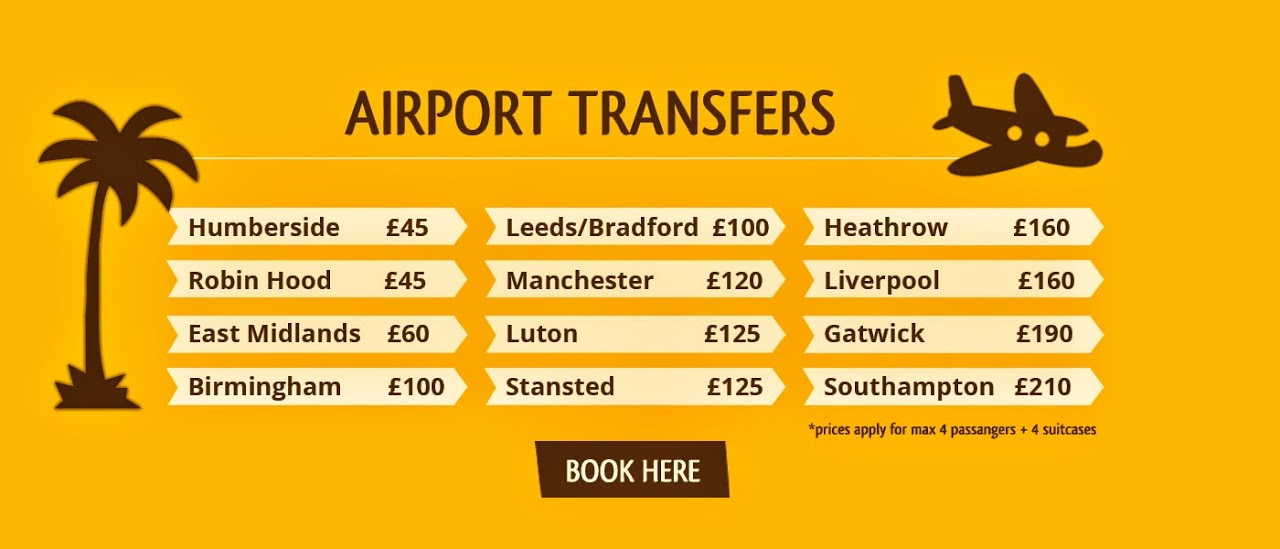 Waddington Taxis Airport Transfer